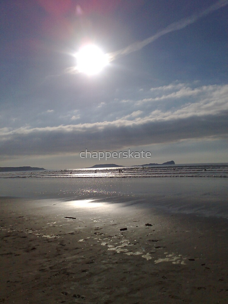 Winter Sun, Llangenith, The Gower, South Wales by chapperskate