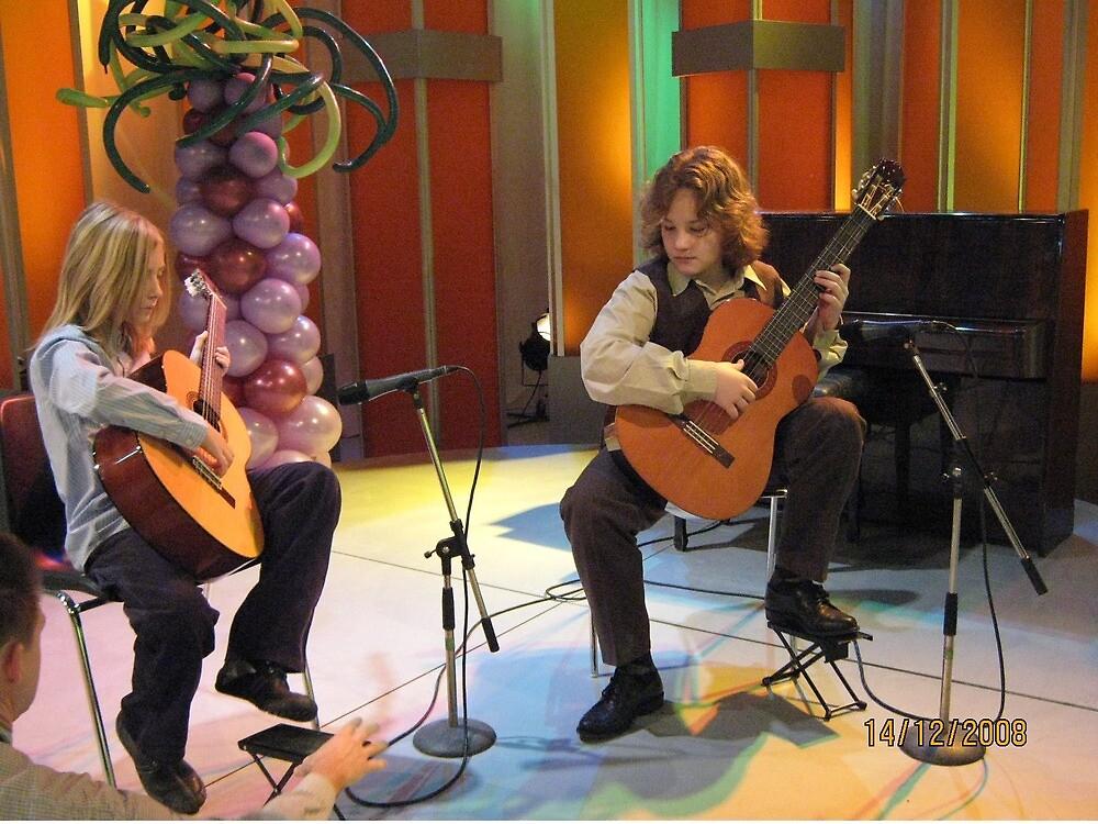 Martin and his guitar... by Ana Belaj