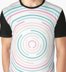 Pastel circle Graphic T-Shirt