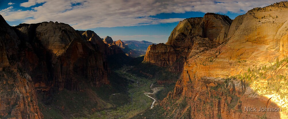 Angels Landing by Nick Johnson