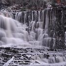 The frozen falls by Mark Williams