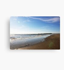 Folly Beach,South Carolina Canvas Print