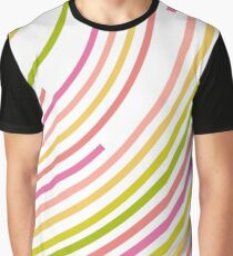 Circular lines Graphic T-Shirt