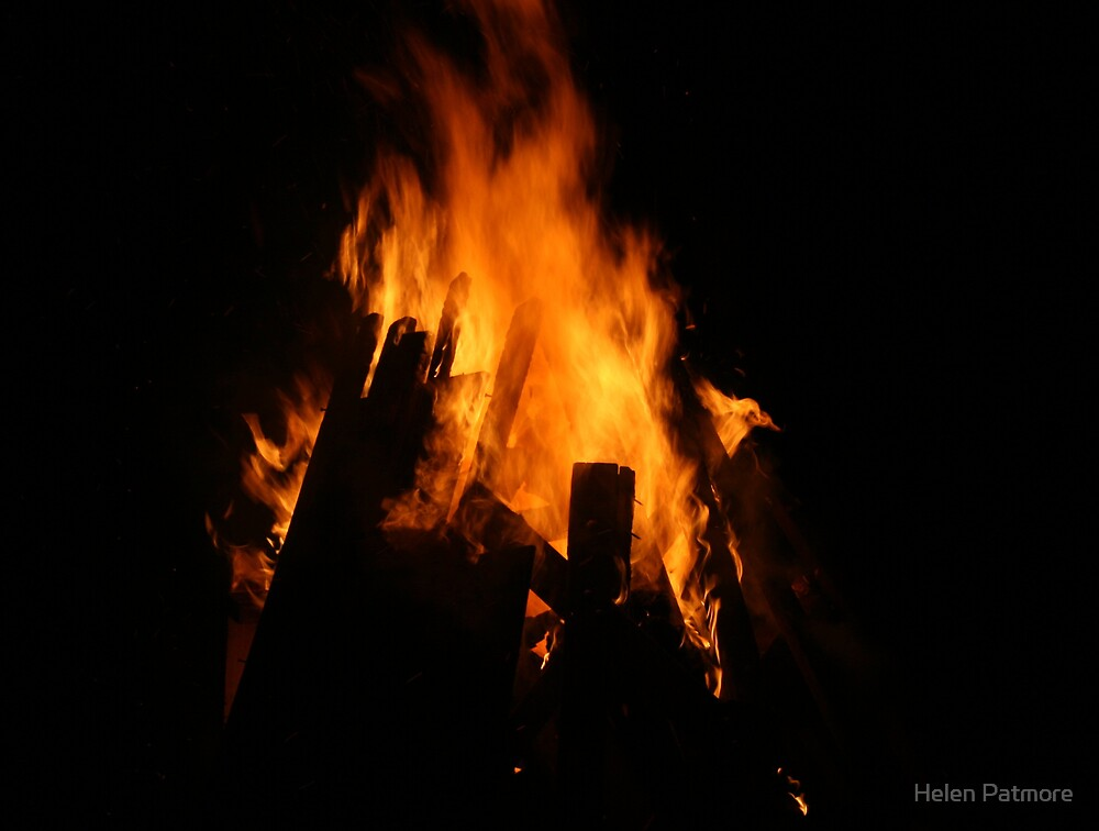 Bonfire by Helen Patmore