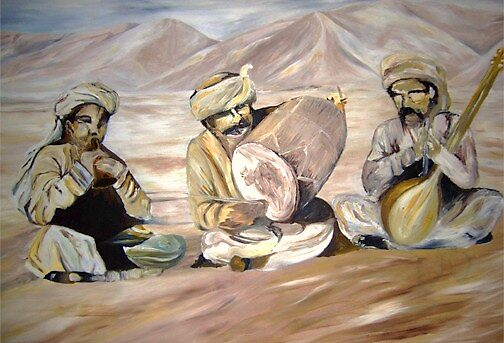 Yazadian's Musical Instruments  by Narin Ismail Ezidi