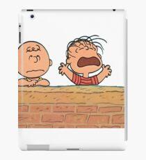 Charlie Brown Brick Wall iPad Case/Skin