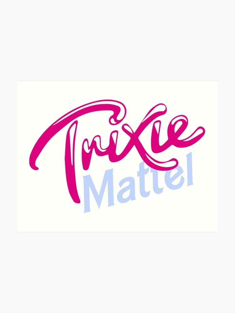 Trixie Mattel Kunstdruck Von Serenafreak Redbubble
