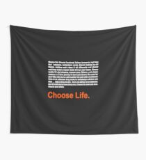 T2 Trainspotting 2 Choose Life  Wall Tapestry