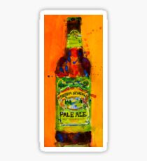 Sierra Nevada Pale Ale Beer Art Print from original Watercolor - Man Cave - College Dorm -Bar Art Sticker