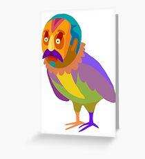 Cartel birdman Greeting Card