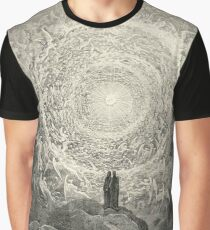 Dante, Heaven, Heavenly, The Divine Comedy, Gustave Doré, Highest, Heaven Graphic T-Shirt
