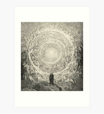 Dante, Heaven, Heavenly, The Divine Comedy, Gustave Doré, Highest, Heaven Art Print