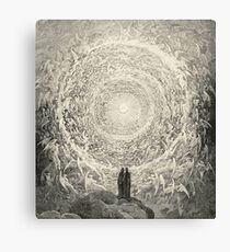 Dante, Heaven, Heavenly, The Divine Comedy, Gustave Doré, Highest, Heaven Canvas Print