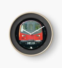 TUBE, TRAIN, Tunnel, London, Underground, UK, GB Clock