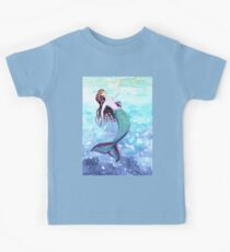 Touching the surface- mermaid under the sea Kids Clothes