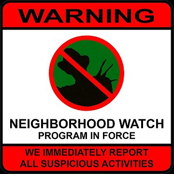Elm Street Neighborhood Watch Poster by willdunphey
