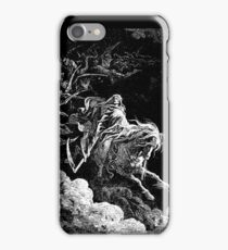 DEATH, Death on the Pale Horse, Revelation, Revenge, Gustave Doré, (1865), Revelations, Seven Seals iPhone Case/Skin