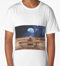 PLANET EARTH, THE UNIVERSE AND I Long T-Shirt