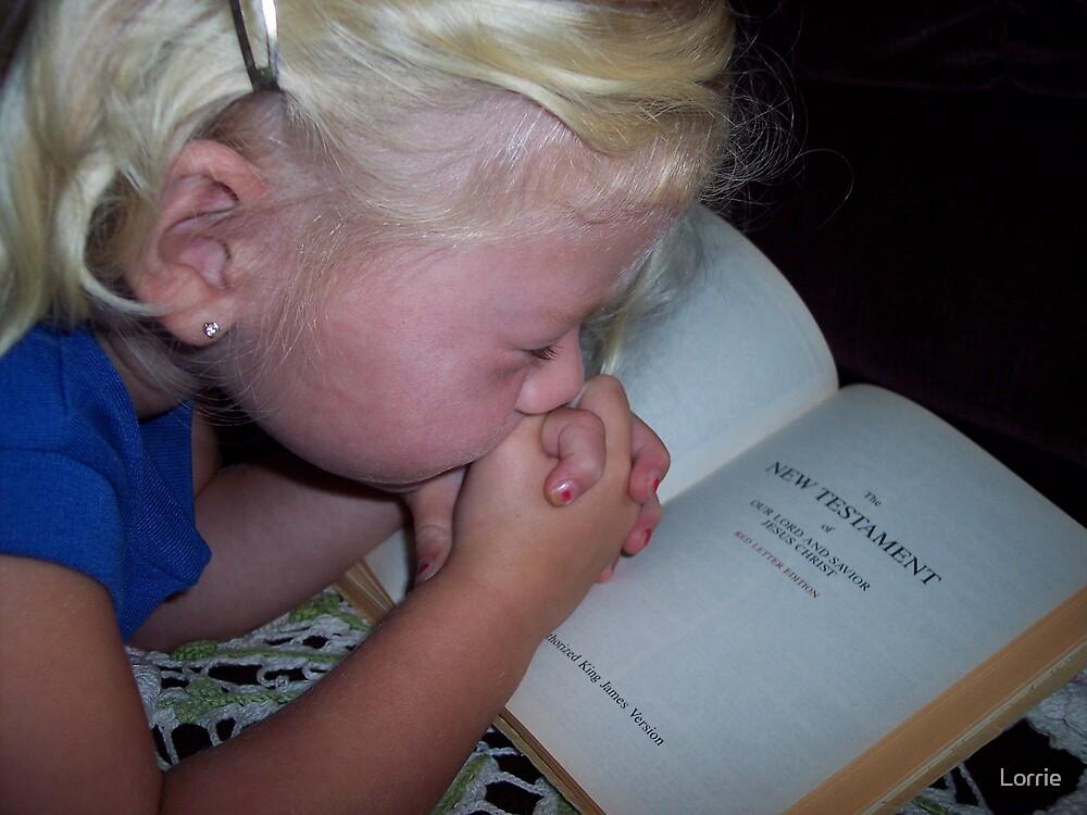 KK's Bedtime prayers by Lorrie