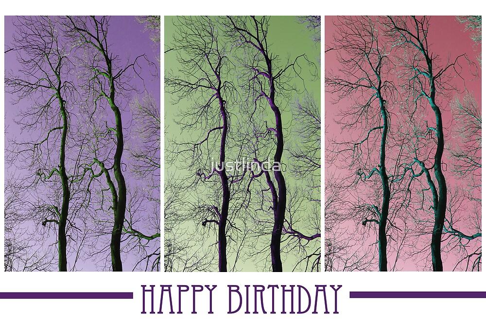 (Birthday Card 8) - Twins - by justlinda