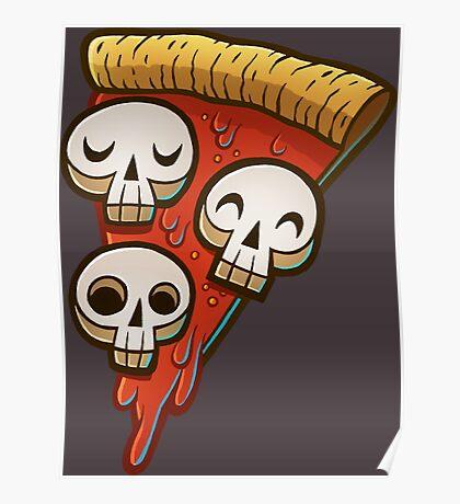 Pizza Skullgioni Poster