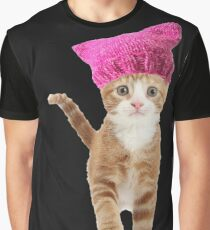 Resistance Kitty Graphic T-Shirt