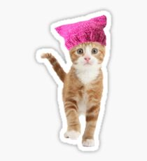Resistance Kitty Sticker