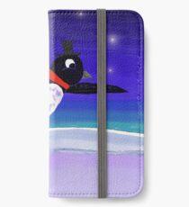 Skating Penguin iPhone Wallet/Case/Skin