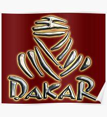 Dakar Rally, Motorsport, RACE, RACING, The Dakar, South America, Paris–Dakar Rally, Rally Raid. Poster