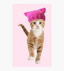 Resistance Kitty Photographic Print