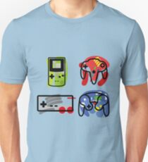 Classic Nintendo Controllers Unisex T-Shirt