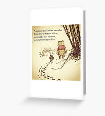 You Are BRAVE Greeting Card