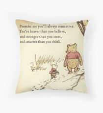 You Are BRAVE Throw Pillow