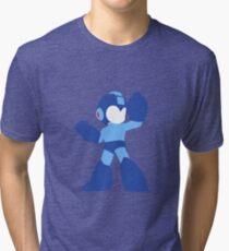 Megaman Vector Tri-blend T-Shirt