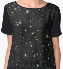 Hubble, Nasa, Extreme Deep Field image, space, constellation, Fornax Chiffon Top