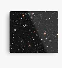 Hubble, COSMOS, Nasa, Extreme Deep Field image, space, constellation, Fornax Metal Print