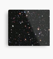 Hubble, COSMOS, Nasa, extremes tiefes Feldbild, Raum, Konstellation, Fornax Metallbild