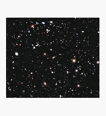 Hubble, COSMOS, Nasa, Extreme Deep Field image, space, constellation, Fornax Photographic Print
