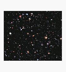 Hubble, COSMOS, Nasa, extremes tiefes Feldbild, Raum, Konstellation, Fornax Fotodruck