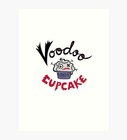 Voodoo Cupcake Art Print