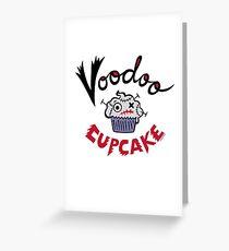Voodoo Cupcake Greeting Card