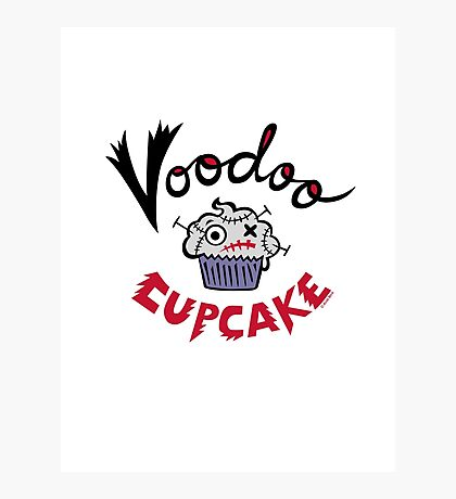 Voodoo Cupcake Photographic Print