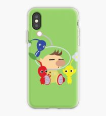 Olimar and Pikmin Vector iPhone Case