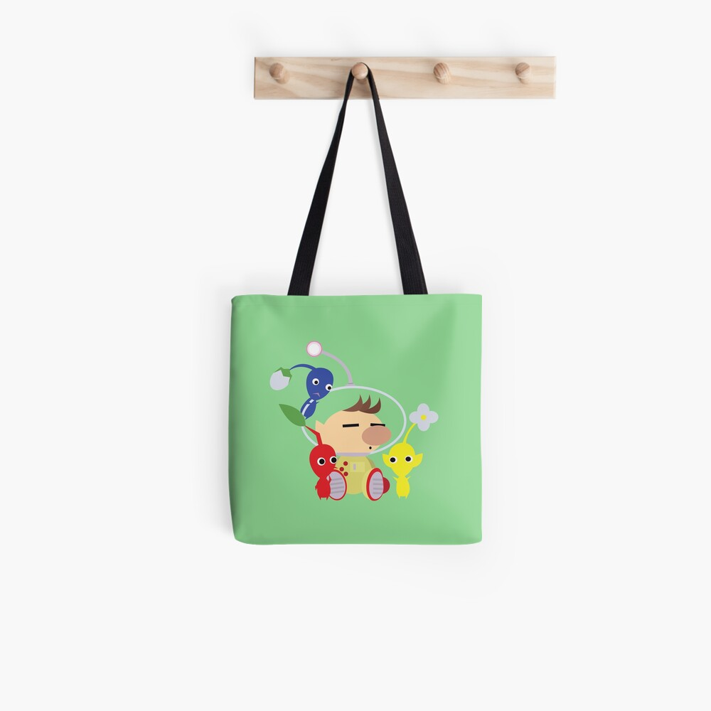 Olimar and Pikmin Vector Tote Bag