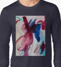 Blood Orchid Long Sleeve T-Shirt