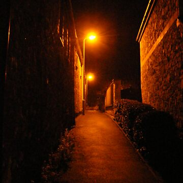 dark alley  by BeckieMaynard