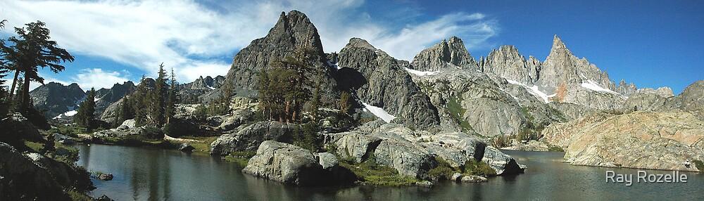 Minaret Mountian Range by Ray Rozelle