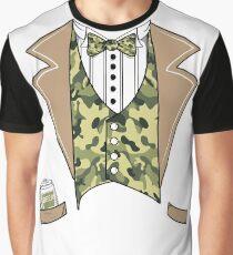 Tuxedo Beer Camo TShirt  Graphic T-Shirt
