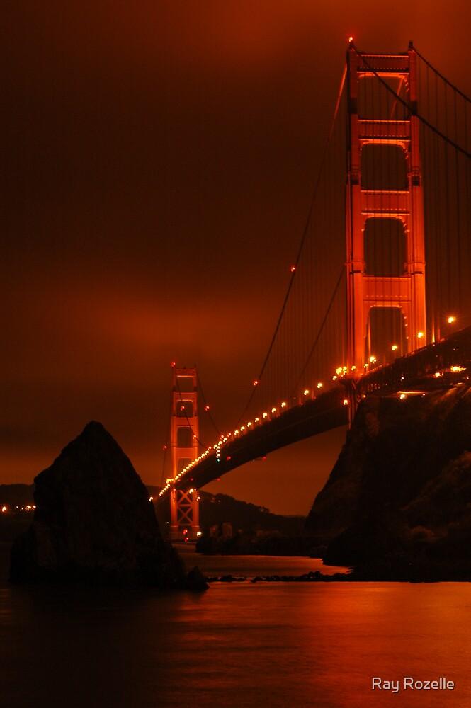 Golden Gate Bridge by Ray Rozelle