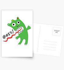 Critter Expletive  Postcards